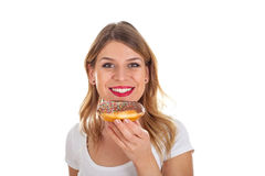 Yummy doughnut Royalty Free Stock Photography