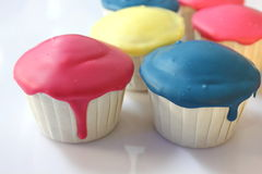 Yummy fancy cup cake for you. Royalty Free Stock Image