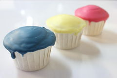 Yummy fancy cup cake for you. Stock Photography