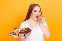 Free Yummy Fatty Greasy Sugary But Tasty Junk Food! Close Up Photo Of Royalty Free Stock Photography - 113549237