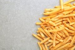 Yummy frieten royalty-vrije stock afbeelding