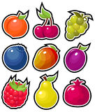 Yummy Fruits Royalty Free Stock Photos