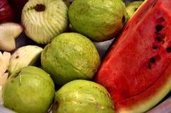 Yummy fruits closeup Stock Photos