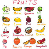 Yummy Fruits Stock Images