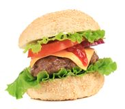 Yummy hamburger Royalty Free Stock Image