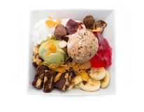 Yummy Ice Cream Sundaes Stock Image
