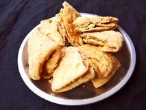 Yummy Indian Mathari/khasta royalty free stock image