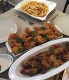 Yummy jedzenie Zdjęcie Stock