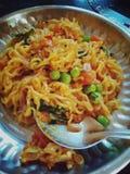 Yummy jedzenie maggie zdjęcie royalty free