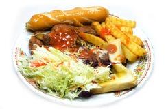 Yummy kippenlapje vlees Royalty-vrije Stock Afbeeldingen
