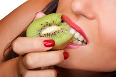 Yummy kiwi Stock Photography