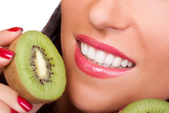 Yummy Kiwi Stockfotos