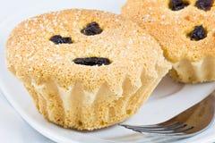 Yummy kleine Kuchen Stockfotos