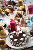Yummy Kuchen lizenzfreie stockbilder