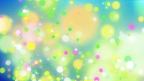 Yummy looking particles of different colors royalty free illustration