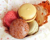 Yummy Macaroon Royalty Free Stock Image