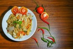 Yummy Mama. Recipe of Thailand Royalty Free Stock Photo