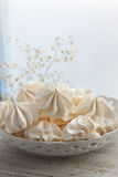 Yummy meringue Stock Photo