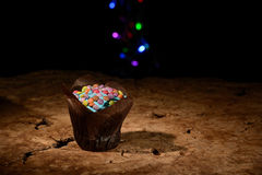 Yummy Muffin lizenzfreies stockbild