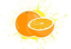 Yummy oranges Royalty Free Stock Images