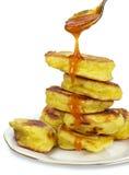 Yummy pancakes Stock Photos