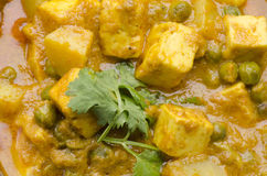 Yummy Paneer Curry Royalty Free Stock Photos