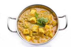 Yummy Paneer Curry w Stock Images