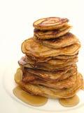 Yummy pannekoeken Stock Afbeeldingen