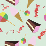Yummy pattern. For background and objects Stock Image
