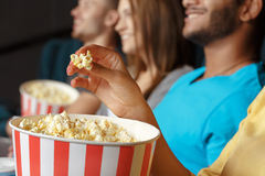 Yummy popcorn Royalty Free Stock Photo