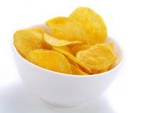 Yummy Potato Chips Stock Photo