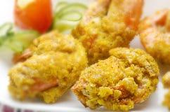 Yummy prawn fry stock images