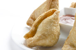 Yummy Samosas Royalty Free Stock Photography