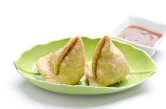 Yummy Samosas Royalty Free Stock Images