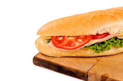 Yummy sandwich Stock Photos