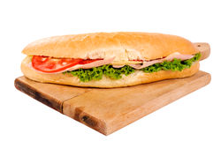 Yummy sandwich Stock Photography