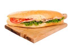 Yummy sandwich Stock Photography