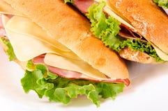 Yummy sandwichis Stock Photography