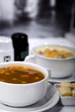 Yummy soup Stock Images
