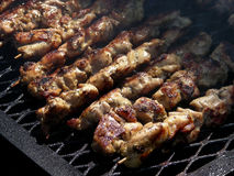 Yummy Souvlaki Stock Photos