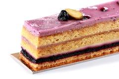 Yummy sweet Blueberry cake Stock Photography