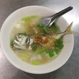 Yummy Thai food. Thailand have many delicious foods. This Thai fish boil is one of them Stock Photo