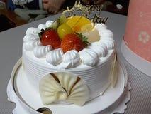 Yummy Verjaardagscake Royalty-vrije Stock Foto