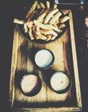 Yummy voedsel Stock Afbeelding