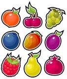 Yummy Vruchten Royalty-vrije Stock Foto's