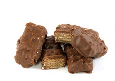 Yummy wafer Stock Images