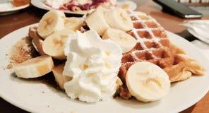 Yummy wafle στοκ εικόνα