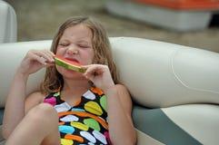 Yummy watermelon Stock Photo