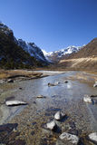 Yumthang valley - North Sikkim Royalty Free Stock Photos