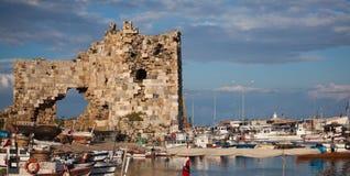 Yumurtalik harbour Royalty Free Stock Image